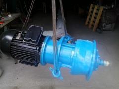 Мотор-редуктор МР2-315 (двигатель 15 кВт , обороты