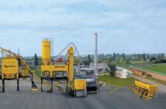 Installation is asfaltosmesitelny. DS-185 (56 T/H)