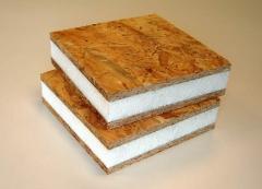 Панели из плитных материалов
