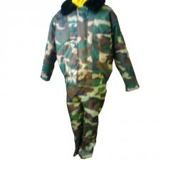 Suits camouflage winter for hunting and fishing,