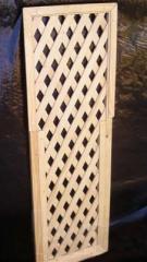 Заборы деревянные декоративные