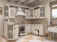Кухни из натурального дерева, мебель для кухни,
