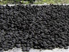 Briquettes are charcoal, expor