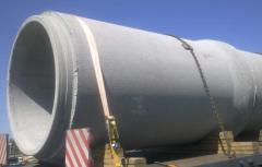 Pipes. Products are reinforced concrete.