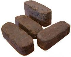 Torfyany briquette