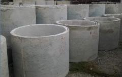 Reinforced concrete rings of GOST 8020-90.
