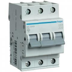 Автоматический выключатель Hager MC304A 3-полюсный