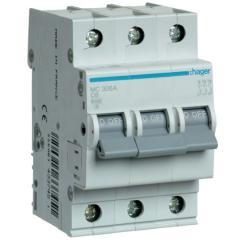 Автоматический выключатель Hager MC306A 3-полюсный