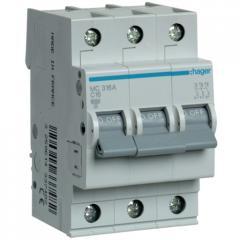 Автоматический выключатель Hager MC316A 3-полюсный