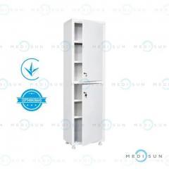 Медицинский шкаф MD 1 1650/SS MEDNOVA (металлический шкафчик одностворчатый)