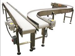 Conveyors are modular.