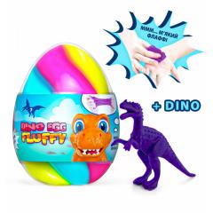 Флаффи-лизун в яйці DINO EGG з динозавриком 140мл
