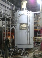 Crystallizer for dense foodstuff