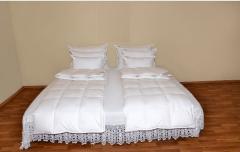Пуховый спальный комплект-Семейный