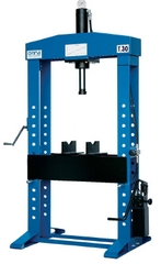 Hydraulic the press for metal processing