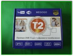 Цифровой ресивер/Тюнер Т2 MEGOGO Т2-168 (DVB-T2,