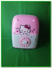 Сейф - игрушка с кодом Hello Kitty