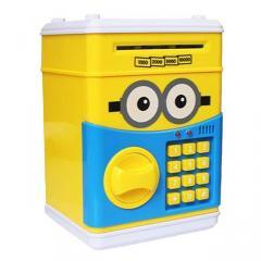Сейф - игрушка с кодом Minions