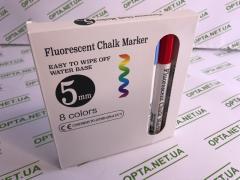 Маркеры для LED доски Fluorescent chalk marker (8