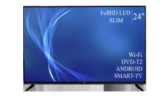 "Телевизор Bravis 24"" Smart-TV Full HD T2 USB..."