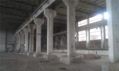 The concrete goods plant located in Vatutino the