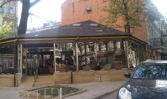 Small architectural constructions summer cafes