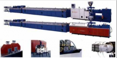 Extrusive lines for production profile