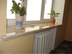 Window sills from granite