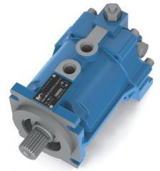 Гидромоторы нерегулируемые с наклонной шайбой MF