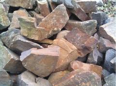 Камень строительный бутовый