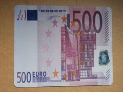 Коврик для мышки 500 ЕВРО (20*28*0.2)