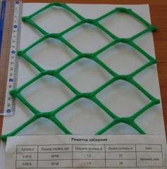 Пластиковые заборные решетки
