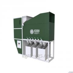 Grain cleaning equipment ISM-20, increase of yield