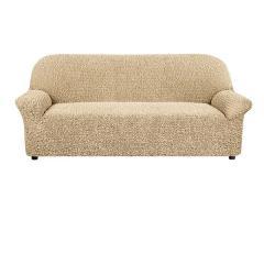 Накидка для дивана №17 БЕЖЕВЫЙ (полоса) (30)