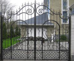 Gate shod in Kiev