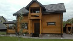 Дома деревянные, бани из соснового