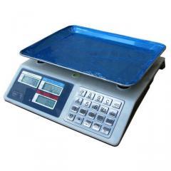 Весы торговые электронные до 50 кг Спартак 982S