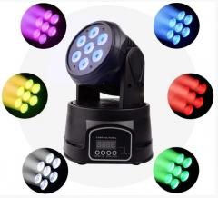 Лазерный диско проектор LM70S RGBW Cветомузыка для
