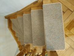 Ковровие ступени для лестниц, антискользящие