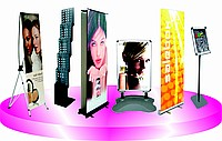 Displays. Exhibition equipmen