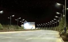 Lamps LED road lamps for roads of a class A, B, B