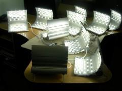 LED lamps for external lighting.  svetilniki –