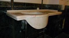 Оснащение для ванной, мраморная столешница, купить