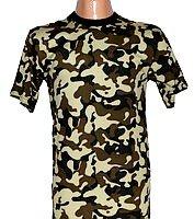 T-shirt man's K-01012, camouflage Ukraine,