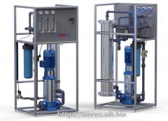Industrial return osmosis 0,9-3,6 m.kub. / hour