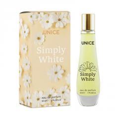 Женская парфюмированная вода UNICE Simply White, 50 мл