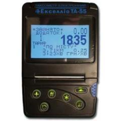 Eksellio's taximeter of TA-55 sale, installation,