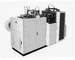 Automatic machine for production of paper glasses