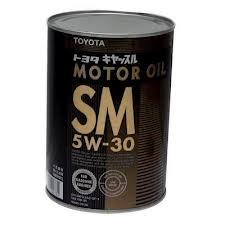 toyota motor oil api sl 5w-30 4лит.