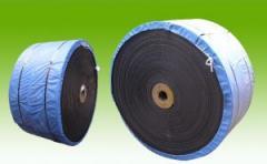 Rezinotkanevy conveyer belts